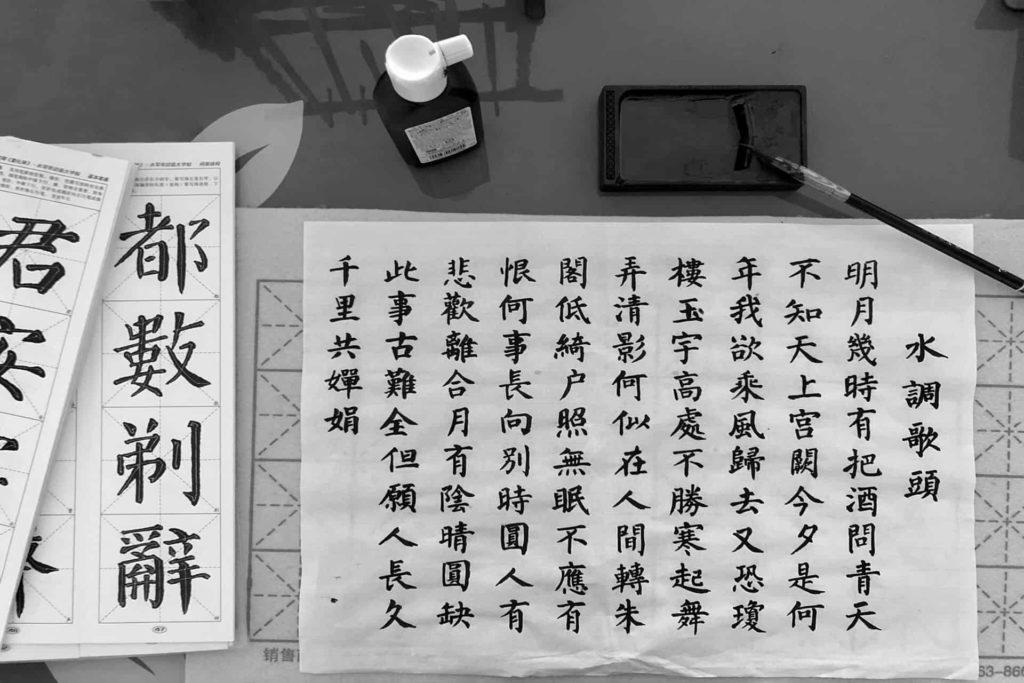 Aprender a usar tinta china