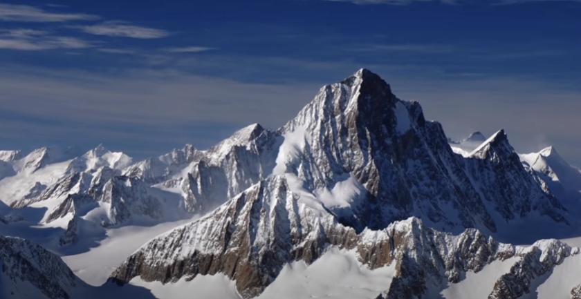 Los Alpes inspiración de la MontBlanc